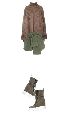 """FunWrap: my lazy set"" by nino-d-f ❤ liked on Polyvore featuring Faith Connexion and Casadei"