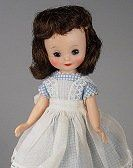"Betsy McCall Dolls: [By Denise Van Patten]  Betsy McCall dolls have been made in many sizes. The first Betsy McCall, made by Ideal starting in 1952, was 14"" The popular vintage American Character dolls made starting in 1957 were 8"" but sizes of Betsy McCall have been made as large as 36"" and also in 20"" and other sizes. The modern Betsy McCall dolls made by the Robert Tonner Company are made in 8"", 14"" and 29"" sizes. Companies That Have Produced the Betsy McCall Dolls: Betsy McCall a..."