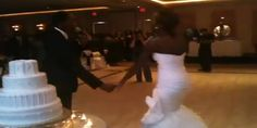 VIDEO: Spend My Life Wedding Reception Entrance – This Couple Can Blow!