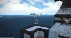 FFXIV - l' oceano sconfinato a Limsa Lominsa