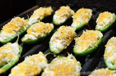 Chicken & Cheese Stuffed Jalapeno Poppers Recipe #party #food #superbowl