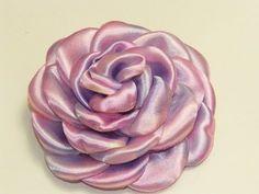 Hermosas Flores Grandes Degradé o matizada de Tela Satinada o Raso - YouTube