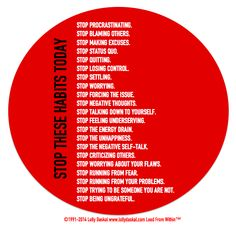 Stop These Habits by Lolly Daskal