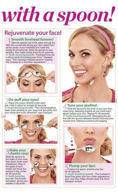 Massage Facial, Facial Yoga, Facial Muscles, Beauty Tips For Face, Beauty Secrets, Beauty Hacks, Face Tips, Beauty Care, Beauty Skin