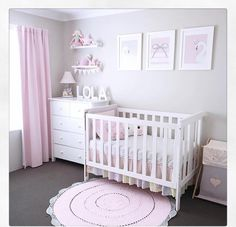 268 Likes, 45 Comments - Jo Ferguson ( - - Best Baby Girl Nursery ideas Baby Nursery Decor, Baby Bedroom, Baby Boy Rooms, Baby Decor, Nursery Room, Girls Bedroom, Baby Girls, Baby Girl Nursery Pink And Grey, Kids Decor