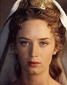 "Emily Blunt as Catherine Howard in ""Henry VIII"" (2003)"