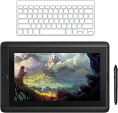 Matte Painting - The Cintiq 13HD delivers all the benefits of Wacom professional pen input capabilities in one of the most popular desktop sizes.
