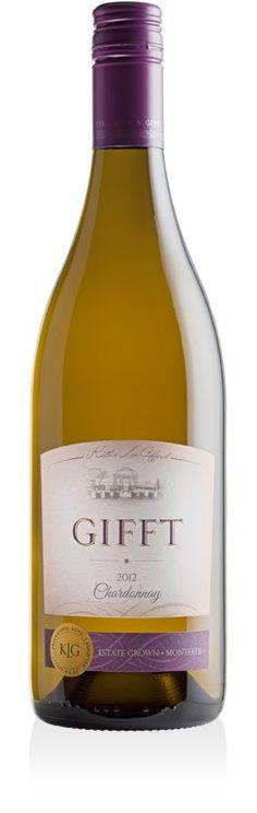2012 Chardonnay, Gifft Wines (Kathy Lee Gifford) $20