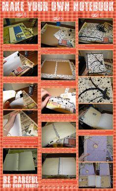 DIY Notebook by ~arafel on deviantART
