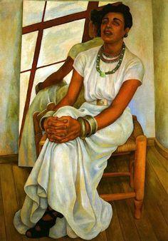 Retrato de Lupe Marin, Diego Rivera