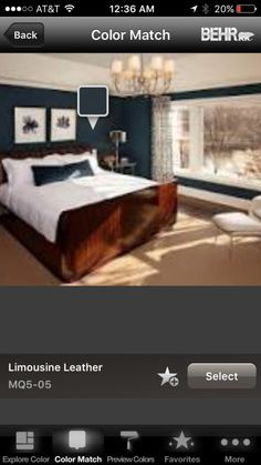 Behr Limousine Leather - SW room Star Wars Room, Rustic Elegance, Behr, Choices, Paint, Elegant, Leather, House, Inspiration