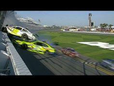 ▶ Parker Kligerman Flips Into Fence - Daytona 500 Practice - 2014 NASCAR Sprint Cup - YouTube  --  #TheDaytona500