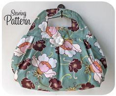 Charm School Handbag PDF Sewing Pattern (Email Delivery) by michellepatterns on Etsy