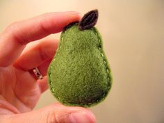 little pear brooch