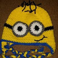 "Minions  all of these items are my very own! If you would like to order something, i have a page on Facebook called ""Hats and things"" or you can reach me at jessiegot2bme@Yahoo.com"