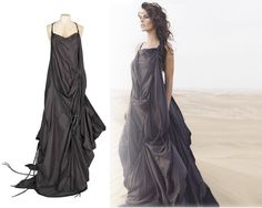 AllSaints long parachute dress, have been wanting this for years.