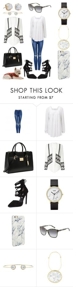 """""""Brisbane, Australia"""" by creation-gallery ❤ liked on Polyvore featuring Forever New, Witchery, Calvin Klein, Tony Bianco, CLUSE, Dolce&Gabbana, Carven, Lele Sadoughi, women's clothing and women"""