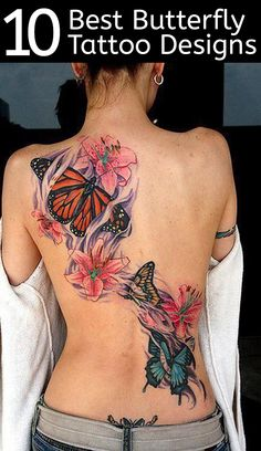 Butterfly tattoo designs are common yet exquisite to look at. They can give a person the right look that they would expect from a tattoo design.