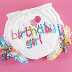 First Birthday Bloomer