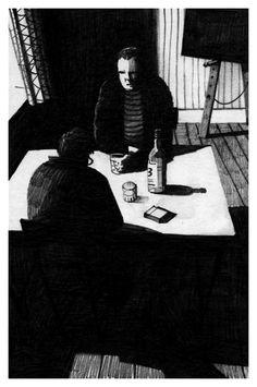 The Human Factor - Bill Bragg Illustration