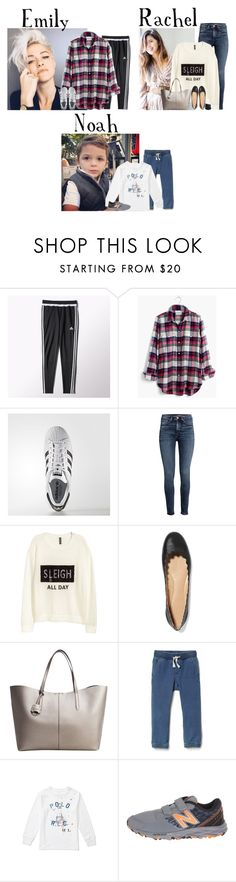 """""""Friday // Indoor Trampoline Park w/Family // 12/30/16"""" by graywolf499 ❤ liked on Polyvore featuring adidas, Madewell, H&M, Chloé, MANGO and New Balance"""