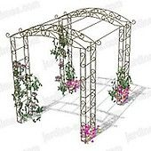 The pergola kits are the easiest and quickest way to build a garden pergola. There are lots of do it yourself pergola kits available to you so that anyone could easily put them together to construct a new structure at their backyard. Garage Pergola, Pergola Garden, Metal Pergola, Cheap Pergola, Backyard Pergola, Pergola Plans, Pergola Kits, Pergola Ideas, Metal Arbor