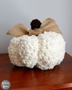 Modern Pumpkins, Free Crochet Pattern   Video on Fiber Flux