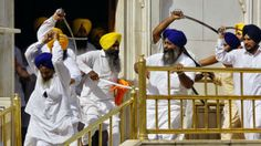 Sword-wielding Sikhs clashed at the Golden Temple in Amritsar, India, as prayers were being held to commemorate the bloody military assault at the holy place on this date 30 years ago. Footage from the event showed the Sikhs slashing wildly at one another on the steps of the temple in the northern state of Punjab. […]