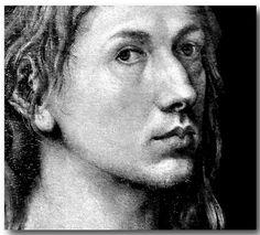 Albrecht Dürer (1471-1528) - Self Portrait (Detail)