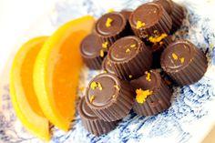 Sjokolade med apppelsinsmak