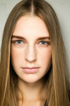 Intelligent beauty by James Pecis for Bumble and bumble at Chloé Spring 2014 Ready-to-Wear