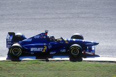 Aguri Suzuki (JPN) (Ligier Gitanes Blondes), Ligier JS41 - Mugen Honda MF-301h 3.0 V10  1995