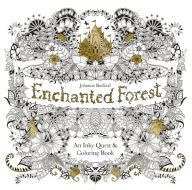 Enchanted Forest: An Inky Quest & Coloring Book | @giftryapp
