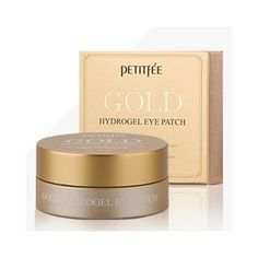 Petitfee Gold Hydrogel Eye Patch 60ea (30 usage) Features Containing effective ingredients such as gold, Ginseng[5,000ppm], birds nest, collagen and rose flower water helps make skin around eyes glowing and moisturized. Detail How to use Use for skin you want such as forehead, laugh lines etc. Product info. Brand : Petitfee All Skin Type Volume : 1pack (60ea) Made in Korea Ingredients none