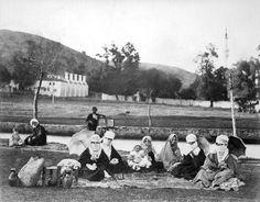 Sultan II.Abdülhamid fotoğraf arşivinden İstanbul'da hayat..Kağıthane