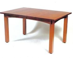 Amish Craftsman Mission Table - 42 x 66 - $1,438.95 in Qs oak