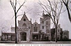 Circa 1900 view of Lyndhurst