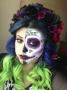 Mitad catrina <3 #Halloween vorana.mx