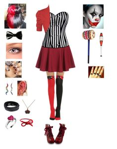 """""""Random Creepypasta Character #55"""" by ender1027 ❤ liked on Polyvore featuring Hot Topic, WearAll, Swarovski, Areaware and plus size clothing"""
