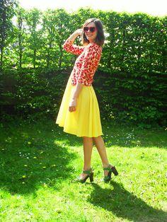 Bright, cheery, colourful! Love, love, love!
