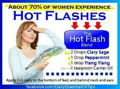 Hot Flash Essential Oil Blend