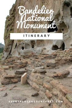Thinking about going to Bandelier National Monument near Santa Fe, New Mexico? Then you should check out this guide full of stops and information before you go. Get information about entering the Monument, the best hikes to go on while there, and even wha New Mexico Road Trip, Travel New Mexico, Mexico Vacation, Sante Fe New Mexico, Roswell New Mexico, Santa Fe, Mexico Destinations, Vacation Destinations, Vacation Ideas