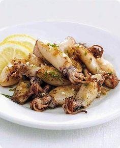 Padellata di calamaretti al prezzemolo