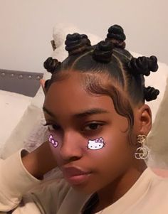 Easy Black Girl Hairstyles, Gothic Hairstyles, Girls Natural Hairstyles, Back To School Hairstyles, Retro Hairstyles, Scarf Hairstyles, Down Hairstyles, Braided Hairstyles, Baddie Hairstyles