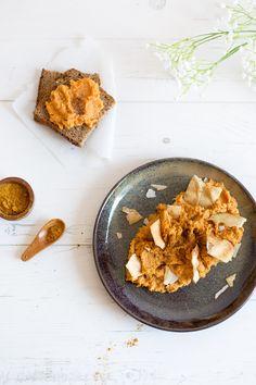 Recette de Houmous de Patate Douce avec les épices Boost Kissala