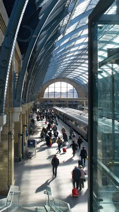 Kings Cross Station - Structure - John McAslan + Partners. @designerwallace