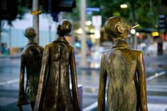 Bourke St Sculptures