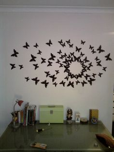 Buy 2 Sets Get 1 Set FREE 22 3D Wall Butterfly by magicalwhimsy, $18.00  Gossip Girl Style