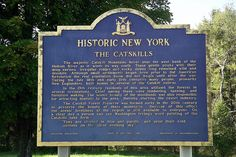 The Catskills Historical Marker Hudson River, Hudson Valley, Stuff To Do, Things To Do, How To Memorize Things, Forest Preserve, On A Clear Day, Catskill Mountains, Those Were The Days