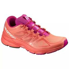 9360663c446c Salomon L39031500 Women S Orange Sonic Pro Running Shoes - With Box Sonic